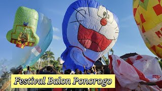 Festival Balon Ponorogo 2019 - Ngumbolne Balon Resmi