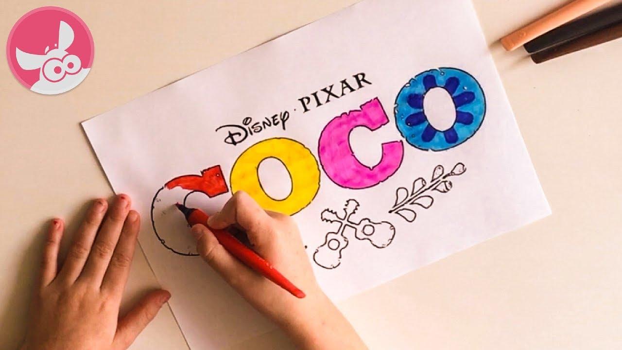 Disney Pixar Kleurplaten.Coco De Film 2017 Disney Pixar Nederlands Kleurplaat Movie