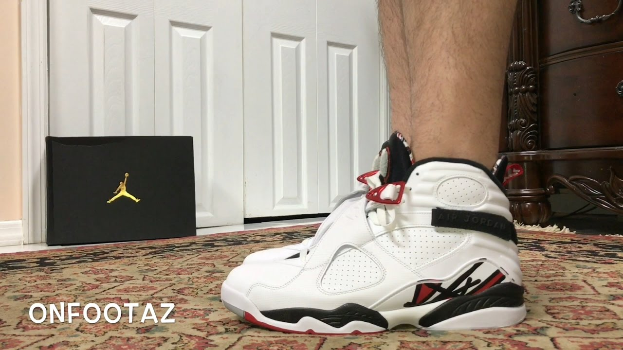 new style ed060 f5083 Air Jordan 8 VIII Alternate On Foot