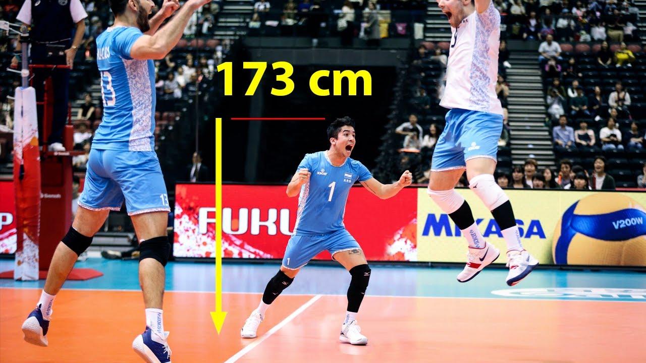 Little Genius - Height 1.73 m | Matias Sanchez | Smartest Plays In Volleyball