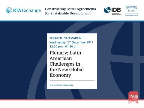Plenary: Latin American Challenges in the New Global Economy