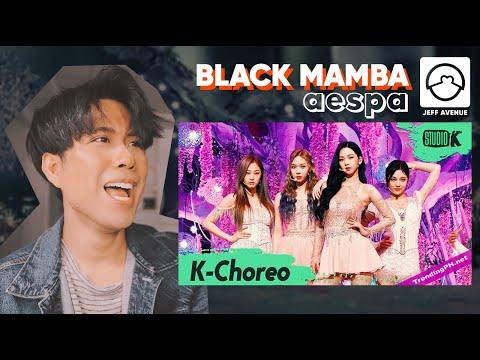 Performer Reacts to 'Aespa' Black Mamba Choreo (K-Choreo)