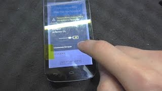 Не реагирует тачскрин смартфона Alcatel 5036D