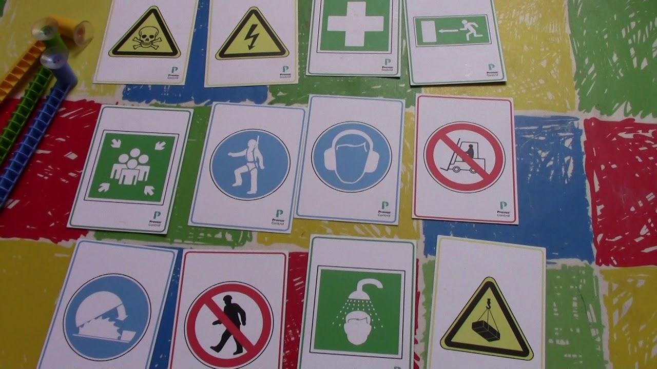 Señales Preventivas O De Seguridad Explicadas Con Dinámicas