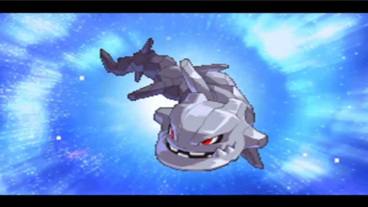 Pokemon Conquest English: Onix Evolve to Steelix - YouTube