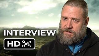Noah Interview - Russell Crowe (2014) - Darren Aronofsky Movie HD