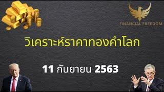 วิเคราะห์ราคาทองคำ 11 กันยายน 2563