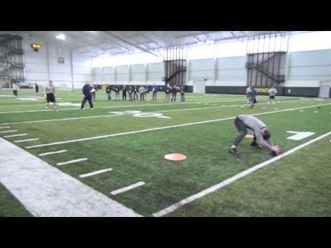 AJ Edds LB Current Workout