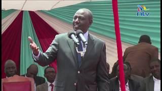 'Stick to development and avoid politics' Ruto tells referendum crusaders