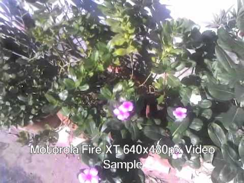 Motorola Fire Xt Video Sample 640x480px