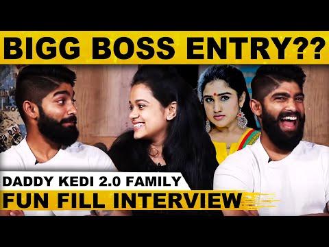 வனிதா அக்கா பேசுறத கேட்கவே முடியாது - Fun Fill Chat With Daddy Kedi 2.0 Family | Sathyaraj | Sowmya