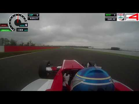 Silverstone GP - British Formula 3 test day
