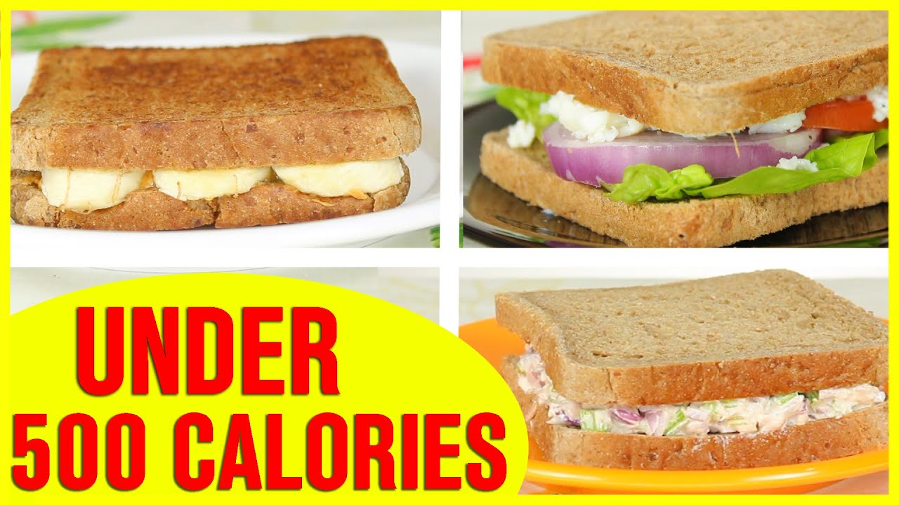 3 Healthy Sandwich Recipes Healthy Recipes For Weight Loss