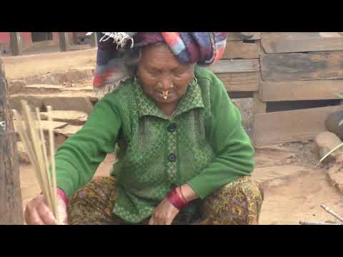 Rural life Ramkot village tradional nepali cooking food daily lifestyle tanahu Nepal part 3