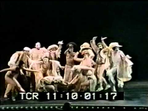 Pippin performs on the 1972 Tonys