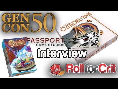Passport Game Studios Interview | Gen Con 50