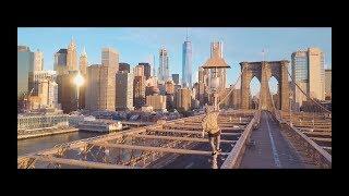 Sunrise at Brooklyn Bridge / Manhattan 2017