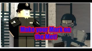 Roblox London How to join the Met and SCO19!