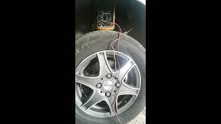 Как проверить датчик ABS/How to check the sensor ABS