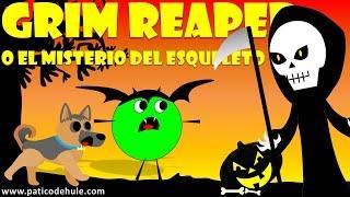 Cuento de Halloween para niños: Grim Reaper o el Misterio del Esqueleto - Halloween temporada 3