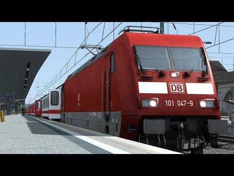 Train Simulator Cologne(Köln) - Koblenz Scenario Pack 1: DB BR101 - 6: Intercity 119