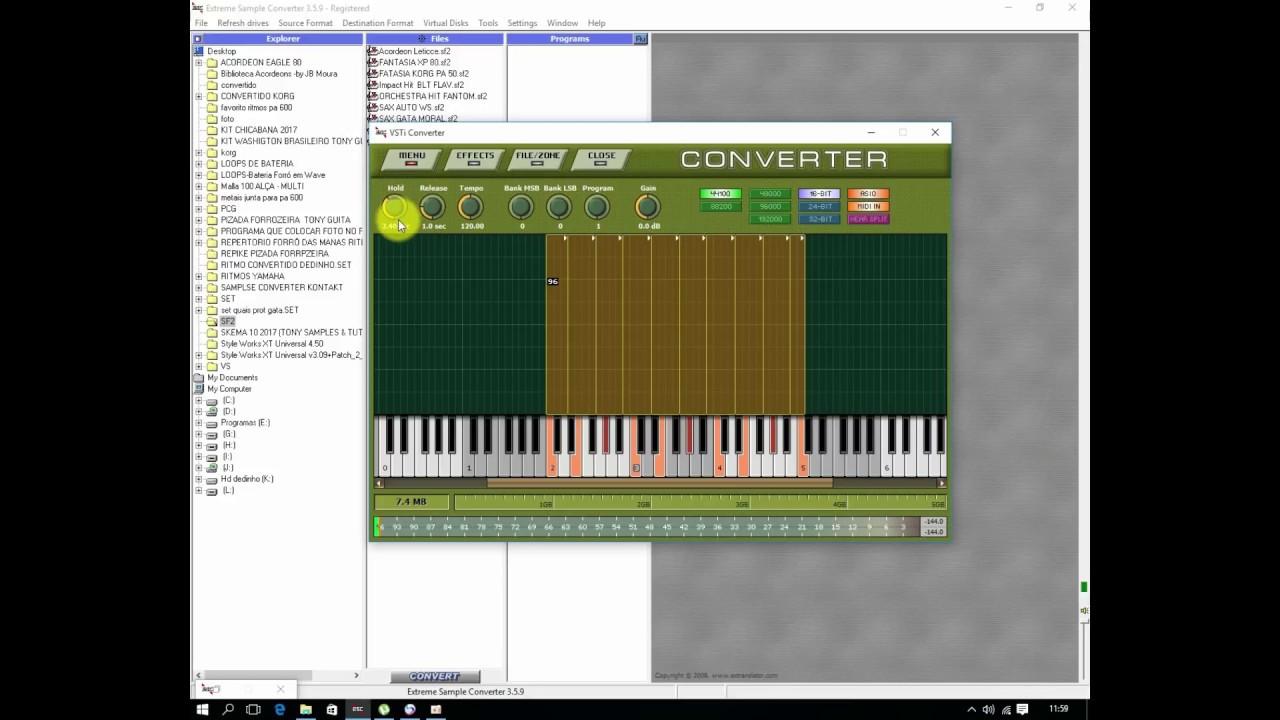 Extreme sample converter 3.6 0