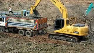 Repeat youtube video รถขุดดิน LiuGong CLG920D ทำงานในประเทศไทย 8