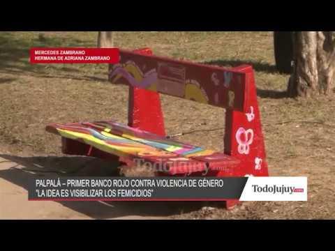 En la plaza Altos Hornos Zapla de Palpalá se inauguró el Banco Rojo