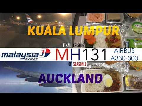 Malaysia Airlines MH131 : Flying from Kuala Lumpur to Auckland