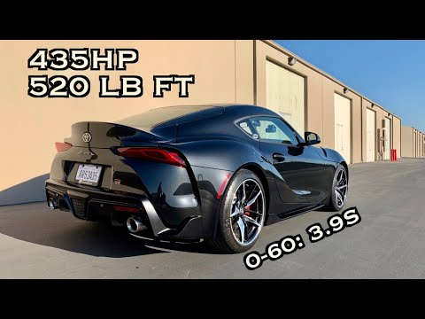 FIRST DRIVE IN MY TUNED 2020 TOYOTA SUPRA! *0-60 In 3.9s!*