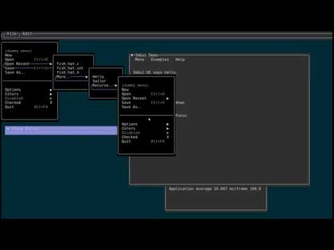 Dear IMGUI Console rendering prototype -- Progress update by Jon Valdés