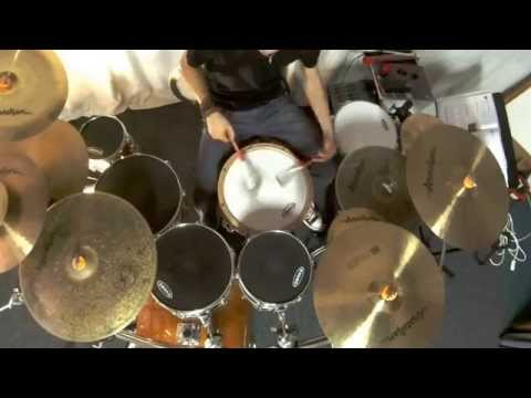 Daily Grooves - Brushes Work with Vic Firth Live Wires Brushes