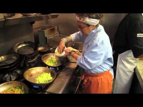 Susan Feniger Prepares Sauteed Brussels Sprouts in her kitchen at ...
