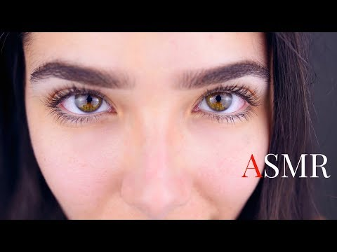 ASMR 3DIO Layered sounds: The eyes of Seduction (Ear touching, Ear tapping, Kisses, Ear Brushing..)