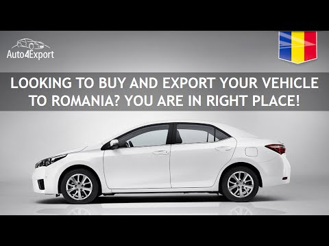 Shipping cars from USA to Romania - Auto4Export