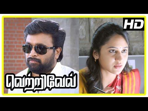 Vetrivel tamil movie | scenes | Miya George intro | Sasikumar falls for Miya | Ananth Nag