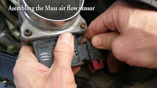 DIY Cleaning MAF Sensor Saab 9-5