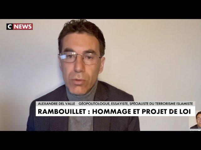 """""""Il faut arrêter de protéger la haine islamiste !"""" Del Valle à la Matinale CNEWS #Rambouillet"""