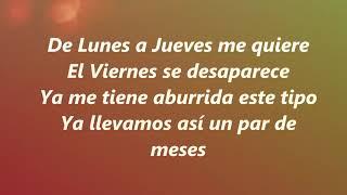 Lunes A Jueves  Leslie Grace Ft. Farina   Lyrcs