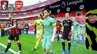 Bournemouth vs Arsenal - Premier League 25 November 2018 Gameplay