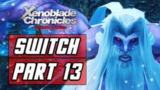 XENOBLADE CHRONICLES: DEFINITIVE EDITION [SWITCH] Gameplay Walkthrough Part 13 - Prison Island