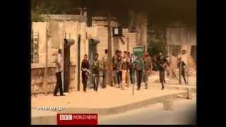 SYRIA Aleppo battle - BBC reporter embedded with sunni djihadists and Al-Qaeda members