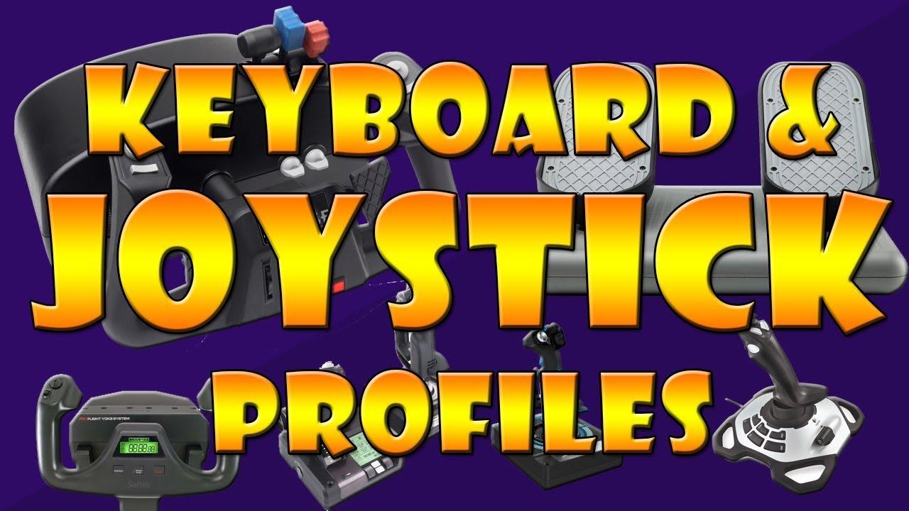 X-Plane 11 Keyboard & Joystick Profiles