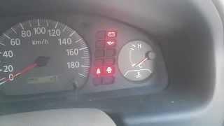 Nissan Sunny QG15 считывание кода ошибок