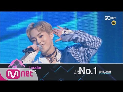 Top in 4th week of August, 'EXO' with 'Louder', Encore Stage! (in Full) M COUNTDOWN 160825 EP.490