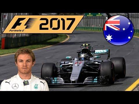 F1 2017 Nico Rosberg Career Mode Part 1: Australia