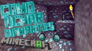 Minecraft Pocket Edition - Como achar DIAMANTES e outros minérios mais fácil e rápido