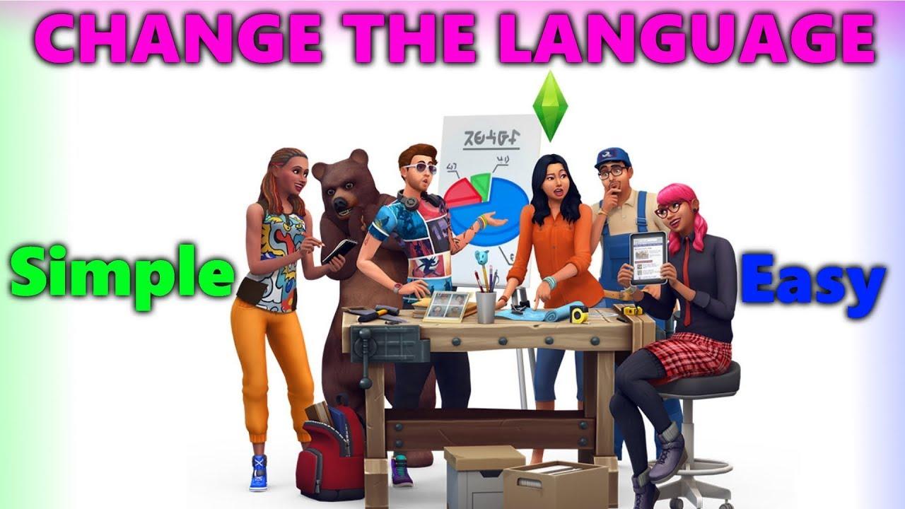 sims 4 sprachpaket