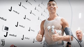 Cristiano Ronaldo undergoes Juventus medical
