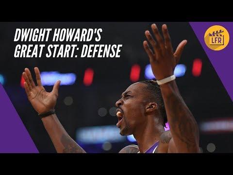 Dwight Howard's Great Start - Defense